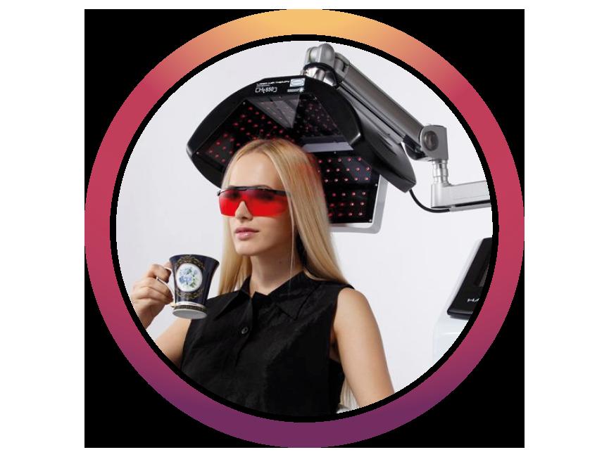 лазерно регенериране на коса подходящо за жени и мъже